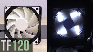 review Deepcool TF120 120mm blue LED & be quiet! Pure Wings 2 120 mm 1500 RPM Limba romn
