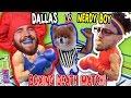 WWE STYLE FIGHT UNDERTAKER NEEDED, RING OF DEATH!! w/ Dallas the Pizza Guy & Nerdy Boy FUNKEE BUNCH!