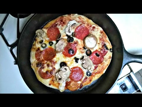 Cast Iron Cooking Pizza Recipe