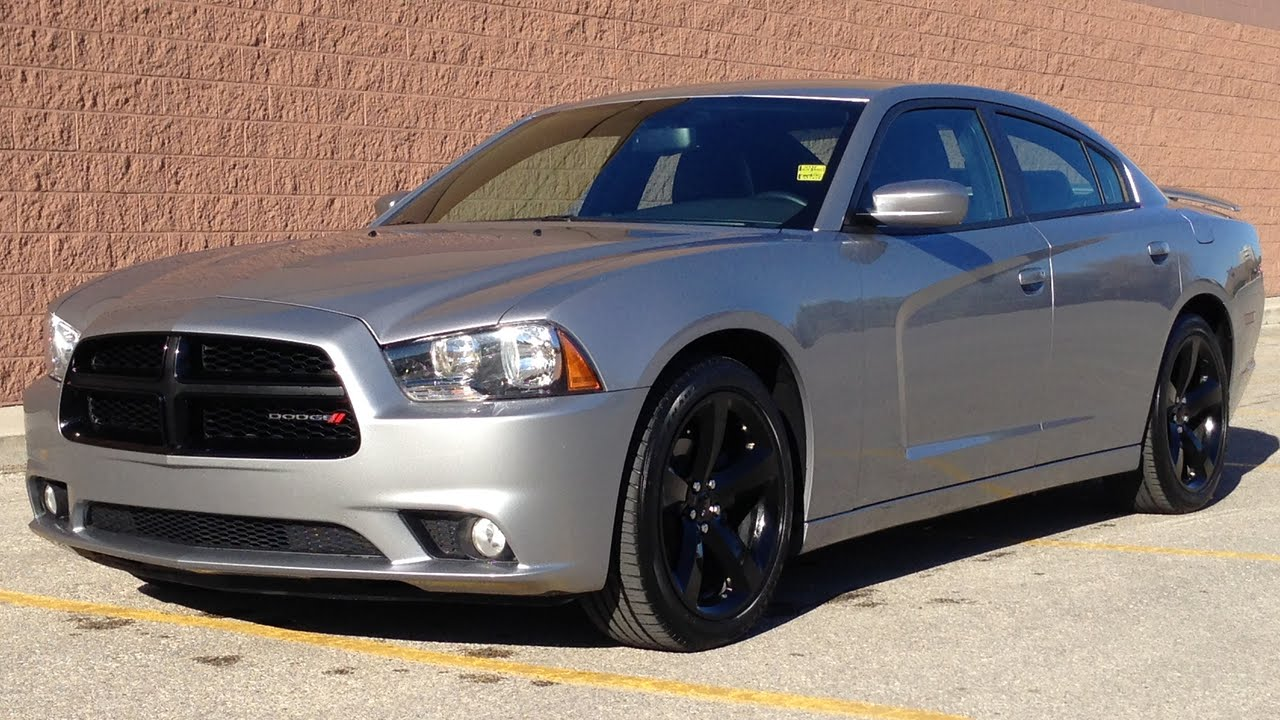 2014 Dodge Charger SXT BLACKTOP - Leather Sport Seats, 8.4in Touchscreen | For Sale in Winnipeg