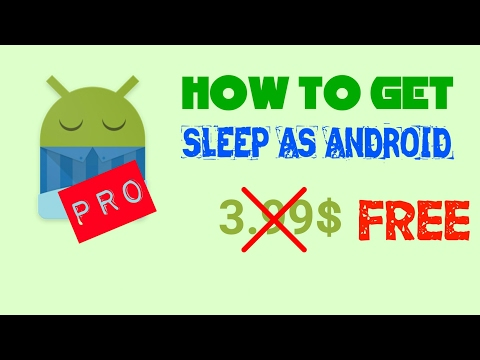 How To Get Sleep As Android Pro For FREE 😊