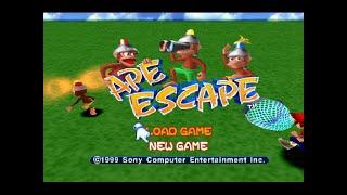 Luv 2 Gam3: Bad @ Gaming! Ape Escape (USA)(1999) - Sony Computer Entertainment - ePSXe