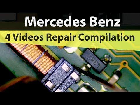 3 Mercedes Benz Key Repair Coil & Button Compilation + Bonus Macbook Repair