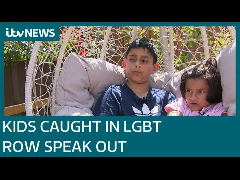 Children Caught In LGBT Education Row Speak Out | ITV News