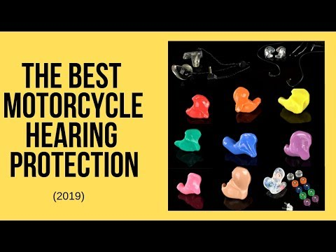 The Best Motorcycle Hearing Protection (NOT GENERIC) {2019}