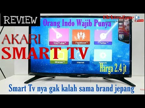 Review Akari Smart Tv 32 Inch Le32v99sm Youtube