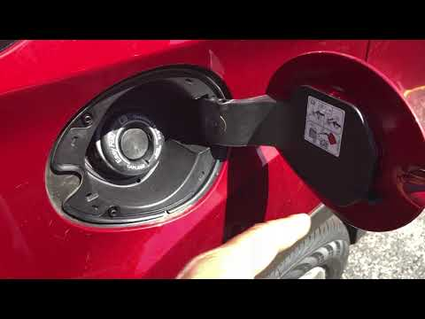 FORD ESCAPE - HOW TO OPEN GAS CAP
