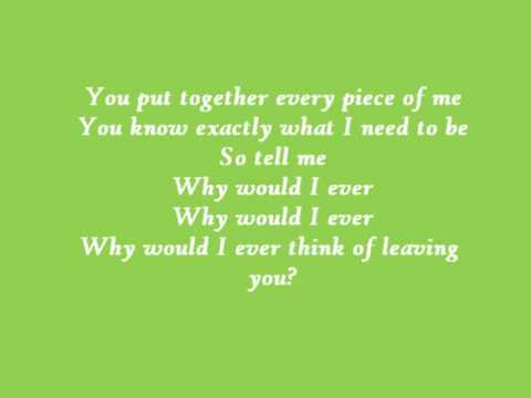 Why Would I Ever - Paula DeAnda with Lyrics