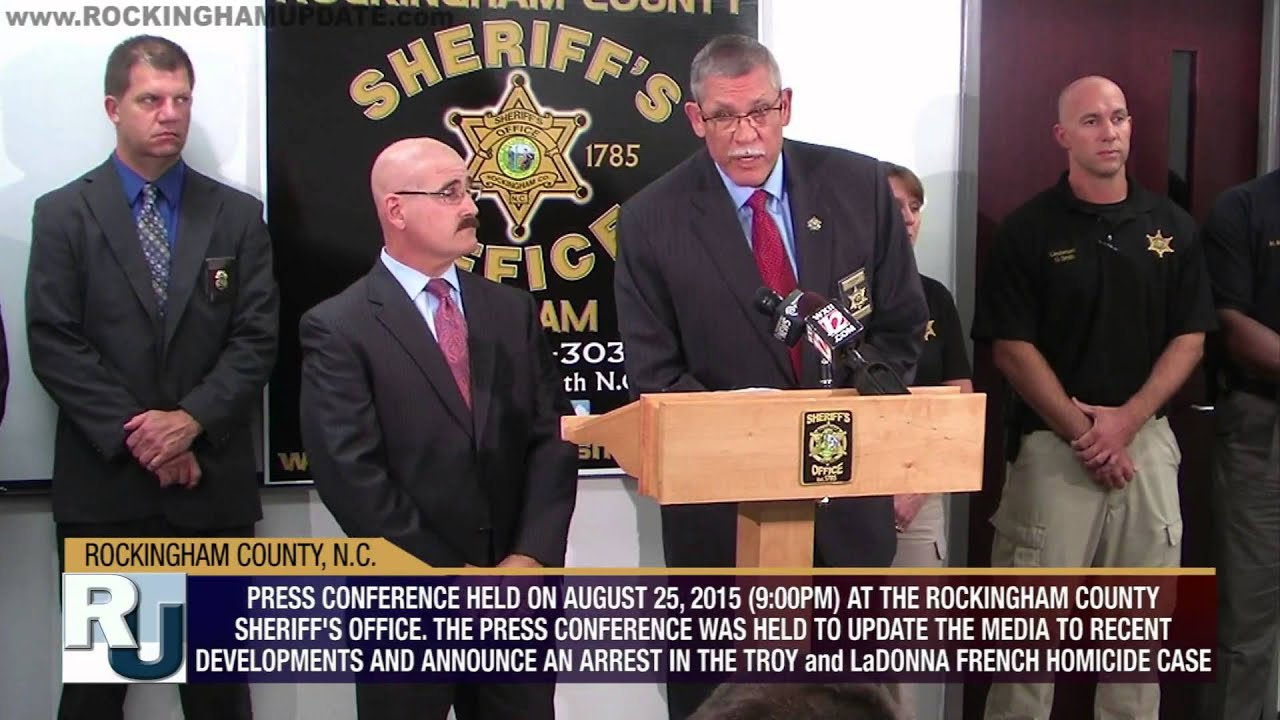 Aug. 25, 2015 - PRESS CONFERENCE - UPDATE - 2012 Troy and LaDonna ...