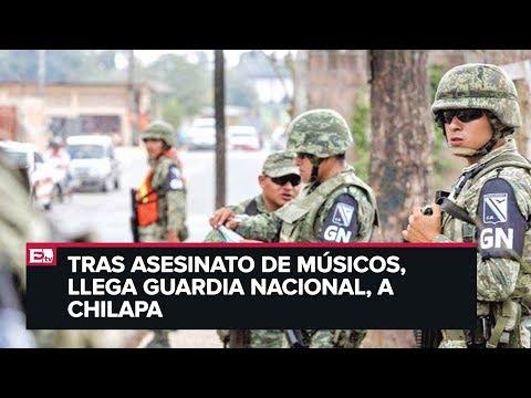 Guardia Nacional llega a Chilapa, Guerrero