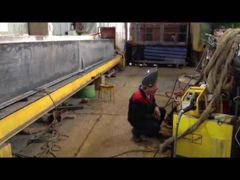 изготовление мостового крана