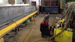 изготовление мостового крана(, 2013-07-09T05:55:35.000Z)