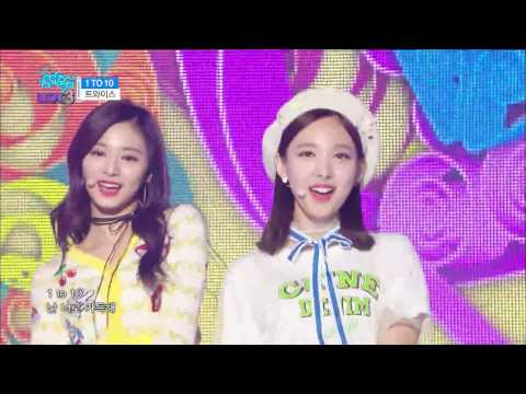 【TVPP】 Twice – 1 TO 10, 트와이스 - 1 TO 10 @Show Music Core
