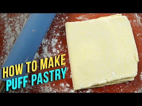 How To Make Puff Pastry | Puff Pastry Recipe | Eggless Recipe | Homemade Puff Pastry Sheet | Upasana