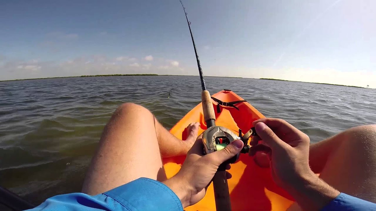 Kayak fishing in port aransas youtube for Fishing report port aransas
