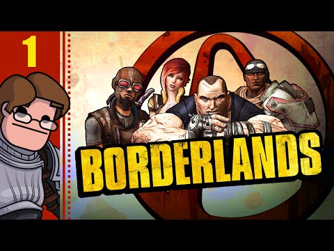 Let's Play Borderlands Co-op Part 1 - Multiplayer Gameplay with Wanderbot, BirdCatcher and Chelle