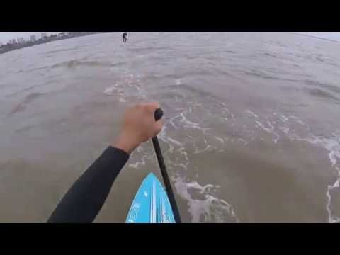 downwind stand up paddle NSP direct sailing