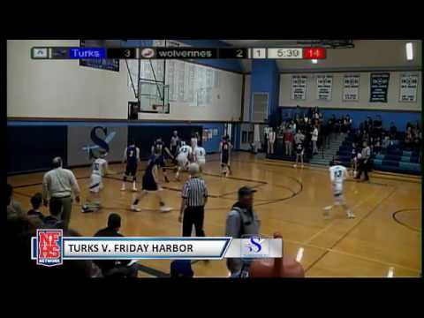 Turk Boys Basketball - Sultan vs Friday Harbor