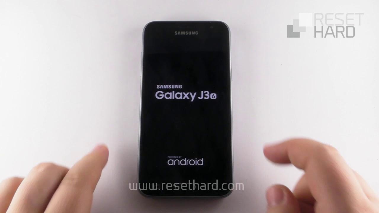 How to Hard Reset Samsung Galaxy J3 2016