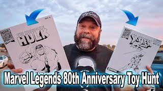 Marvel Legends 80th Anniversary Toy Hunt