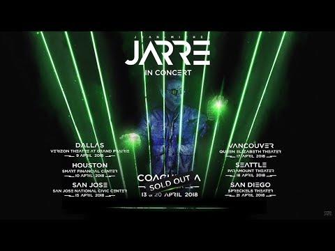 Jean-Michel Jarre - LIVE 2018 North America Tour (Official Trailer)