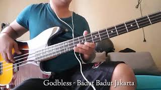 Godbless ( Semut Hitam ) - Badut Badut Jakarta ( bass cover )