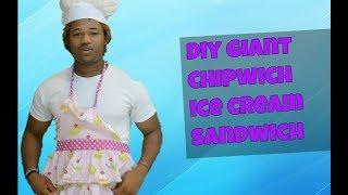 DIY Giant ChipWich Sandwich--- Versus
