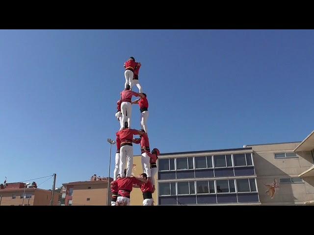 3d7 Castellers Alt Maresme @ FM Sant Cebria de Vallalta (29/09/2019)