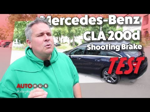 Mercedes-Benz CLA 200d Shooting Brake im Test mit Habby