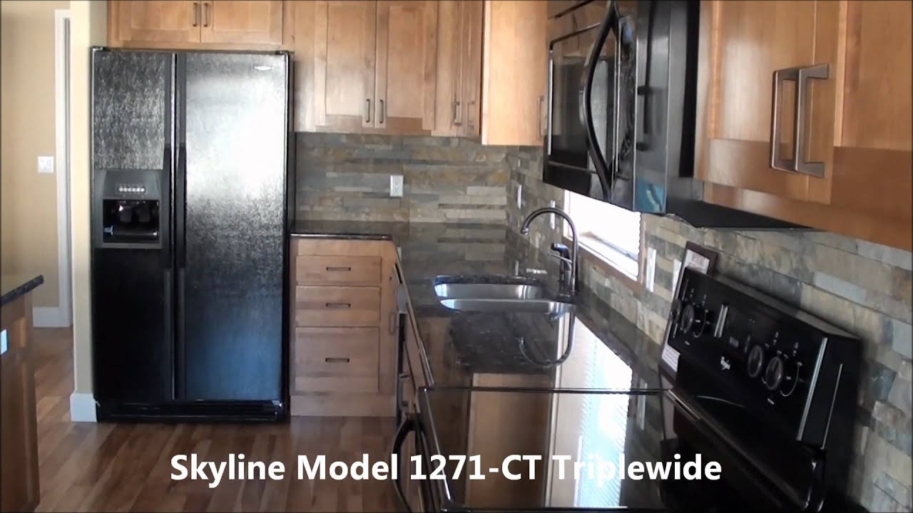 Modular Homes California Cost triple wide manufactured home model 1271ct skyline factory direct