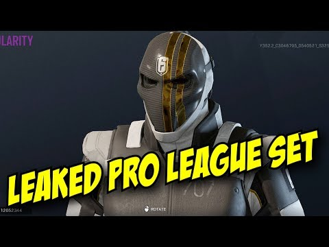 Rainbow Six Siege New Pro League Leak - Vigil, Dokkaebi, Zofia, Ying Y2S3