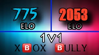 1v1 Sh#t Talking Bully (700 ELO Vs. 2000 ELO) | Destiny