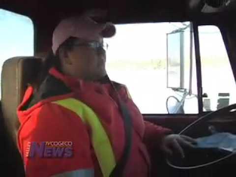 First Female County of Renfrew Snow Plow Operator
