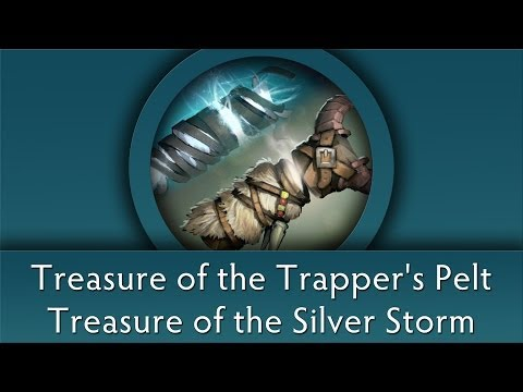 Dota 2 Chest Opening: Treasure of the Silver Storm & Trapper's Pelt