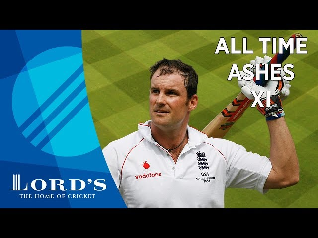 Flintoff, Warne & Ponting - Andrew Strauss' All Time Ashes XI