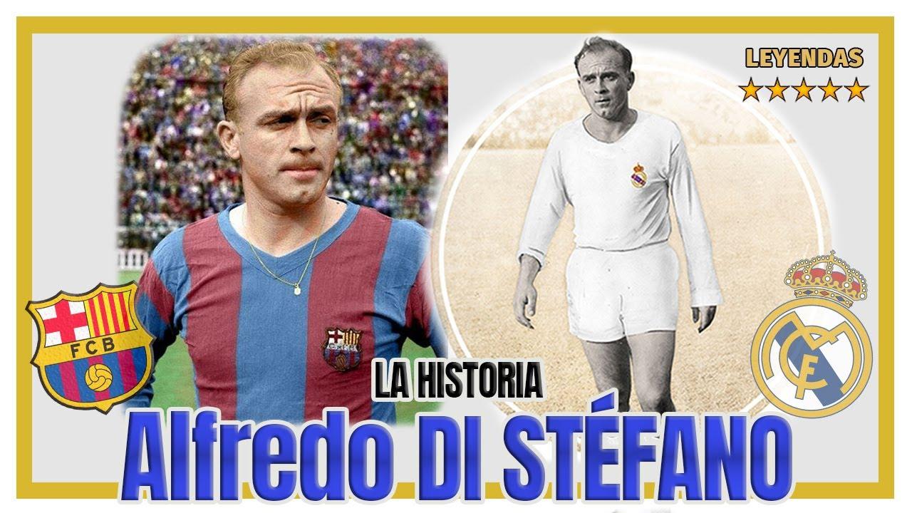 ▶ Alfredo DI STÉFANO 🇦🇷 El FICHAJE que Cambió la HISTORIA del REAL MADRID 🏆👱♂️🛩️ La Saeta Rubia