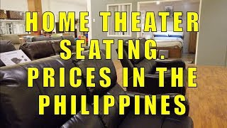 Home Theater Seating, Prices I…