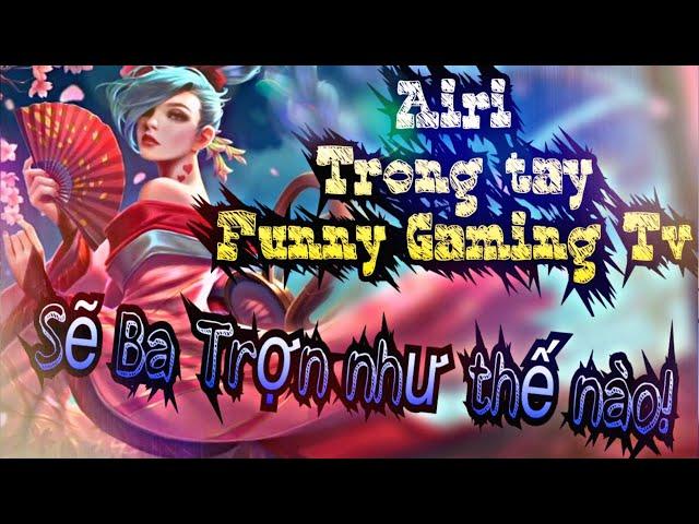 Khi Funny cầm Airi đi lane King Kong và mang theo phép bổ trợ Trừng Trị! Rừng team địch Khóc Thét!