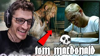 "Metalhead Reacts to TOM MACDONALD - ""Dear Slim""   (REACTION)"