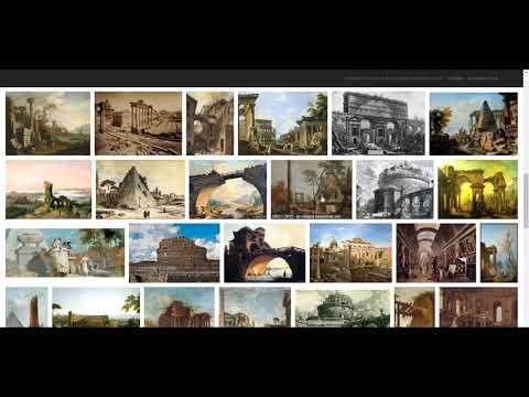 Powódź XVIII wieku.  Ruiny!