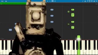 Bendy and the Ink Machine Song - Projections - Piano Tutorial - CG5