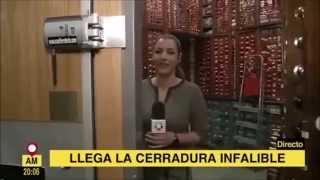La Cerradura Invisible Remock Lockey en Telemadrid (17/04/2015)