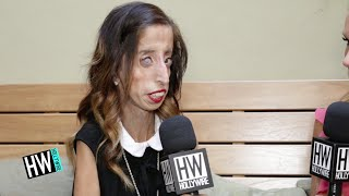 Lizzie Velasquez Shares Inspiring Story & Anti-Bullying Advice (A BRAVE HEART) | Hollywire