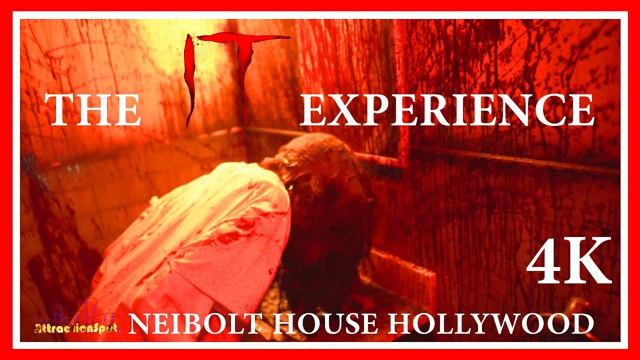 Download The IT Experience Low Light (Complete 4K Experience) Neibolt House Hollywood California