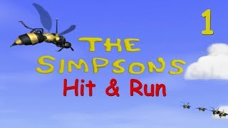 Simpsons Hit &amp Run Ep1 - BUZZ COLA