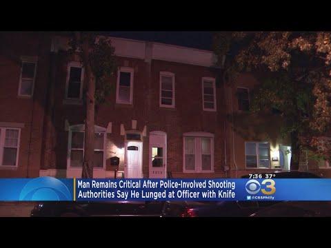 Knife-Wielding Man Shot By Police In Grays Ferry