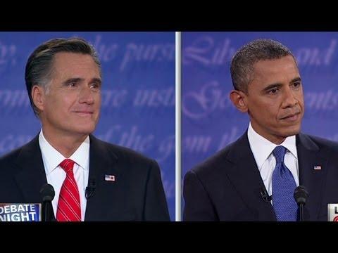 Raw Video: Obama Versus Romney On Tax Cuts