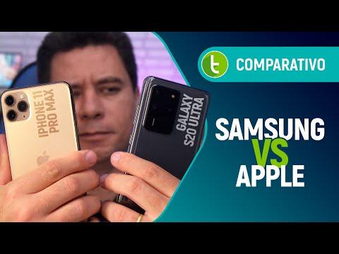 GALAXY S20 ULTRA Vs IPHONE 11 PRO MAX: Qual O MELHOR E Campeão Da OSTENTAÇÃO?   Comparativo