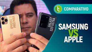 GALAXY S20 ULTRA vs IPHONE 11 PRO MAX: qual o MELHOR e campeão da OSTENTAÇÃO? | Comparativo