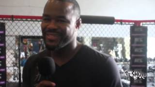 Download Suga Rashad Evans Talks Visiting Miami Dolphins Training Facility and Glover Teixeira MP3 song and Music Video